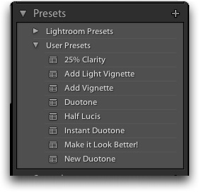 Create Presets and Templates