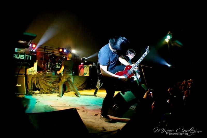 Still Remains in Costa Rica at Rock en tu Calle Fest