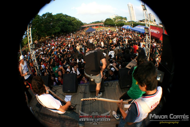 RUND at Rock en tu Calle Fest in Panama
